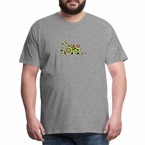 Bunter Schwan mit vielen tollen Farben - Männer Premium T-Shirt