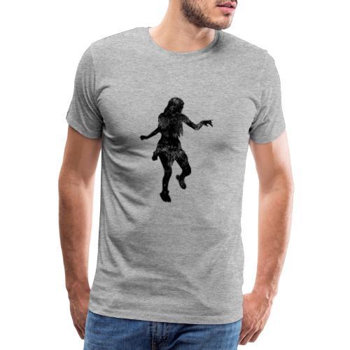 Shuffle Tanz Mädchen tanzt zur Musik - Männer Premium T-Shirt