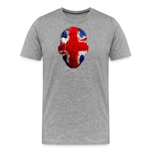 Borg recordings uk Union flag MetaSkull T Shirt - Men's Premium T-Shirt