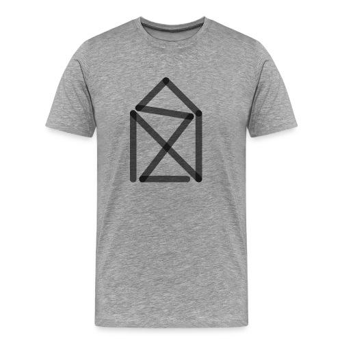 Nikolaushaus cultform - Männer Premium T-Shirt