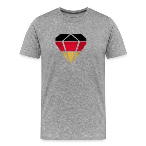 Diamond Germany (Diamant Deutschland ) - Männer Premium T-Shirt