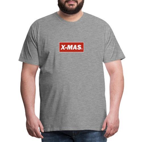 X Mas - Camiseta premium hombre