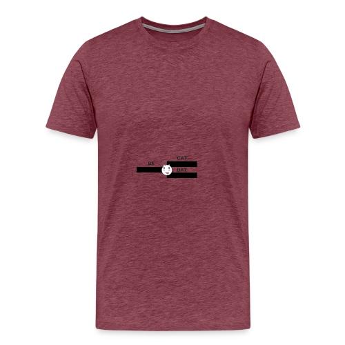 Be Dat Cat   Alf Da Cat - Men's Premium T-Shirt
