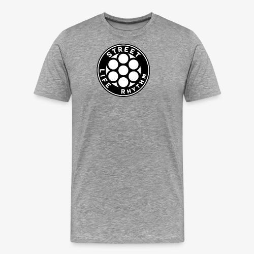 LOGO SLR Blk white - Premium-T-shirt herr