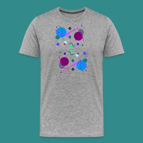 Fröhliche Grafik - Männer Premium T-Shirt