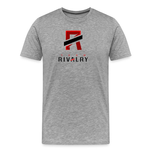 TeamRivalry black bar design - Männer Premium T-Shirt