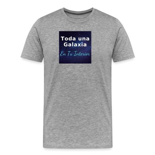 Galaxia en Tu Interior - Camiseta premium hombre