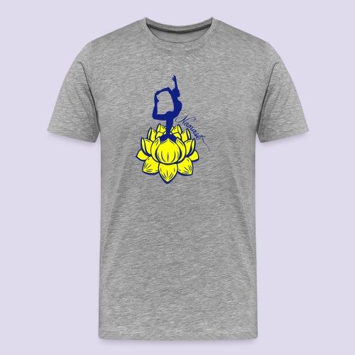 Namaste Lotus Yoga - Men's Premium T-Shirt