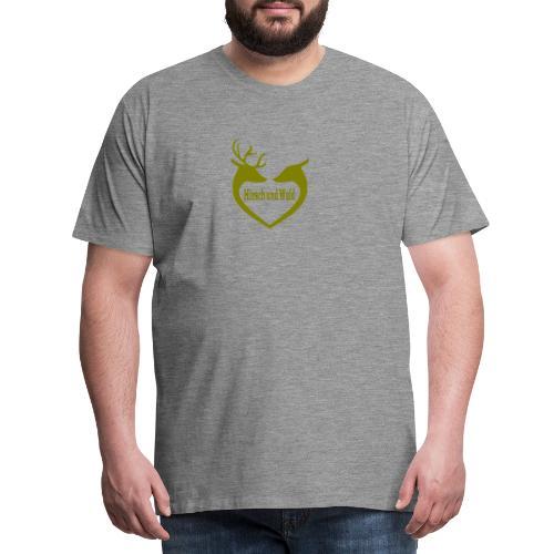 Hirsch - Männer Premium T-Shirt