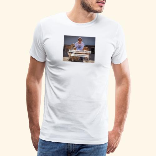 en un mundo de perros con borja capponi - Camiseta premium hombre