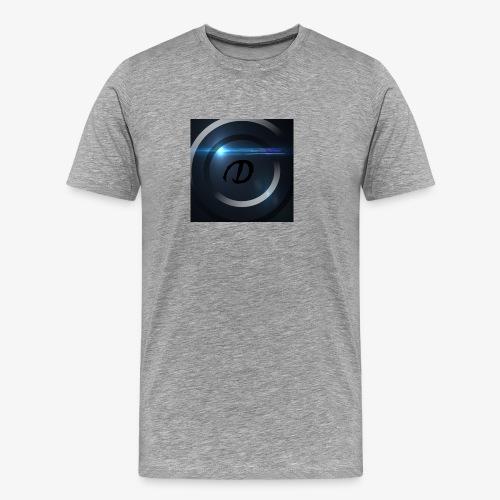 DeutschHD Logo - Männer Premium T-Shirt