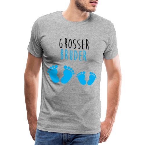 Grosser Bruder Big Brother Junge Baby Familie - Männer Premium T-Shirt