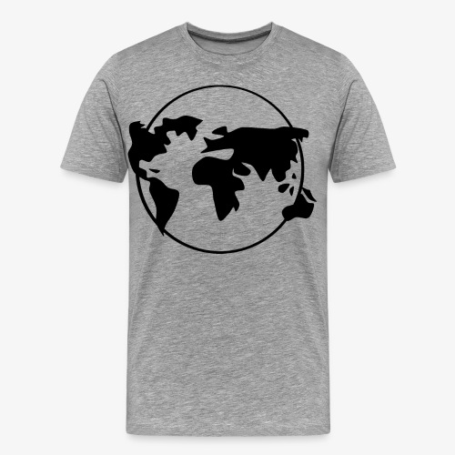 The World, welt - Männer Premium T-Shirt