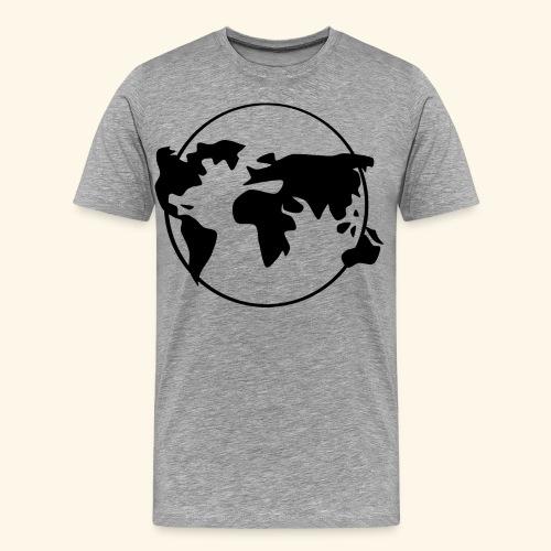 The World, welt - Männer Premium T-Shirt