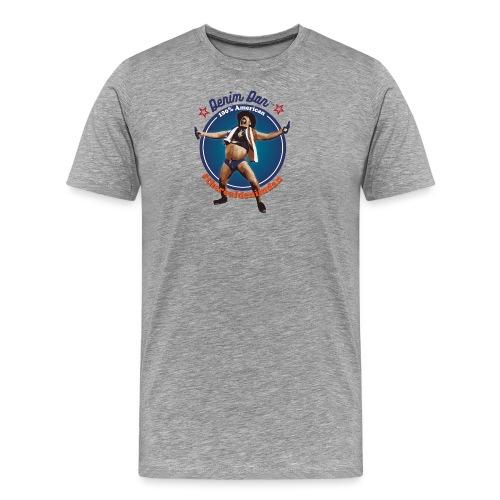 Denim Dan - Premium-T-shirt herr