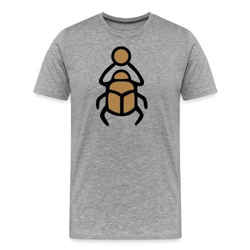 Skarabäus Ägyptisches Schutz Symbol Amulett - Männer Premium T-Shirt