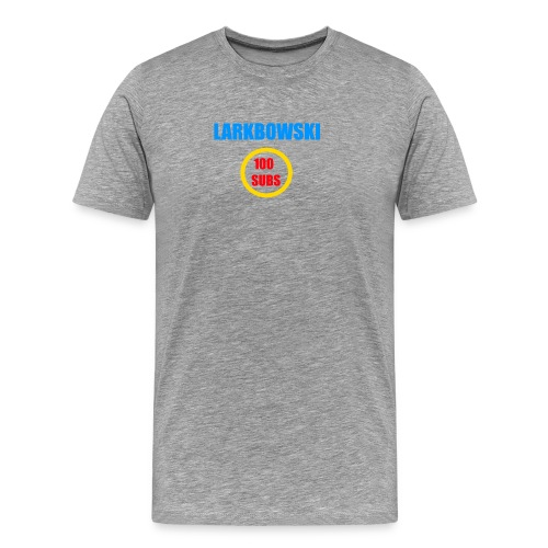 100 subs speicial - Men's Premium T-Shirt