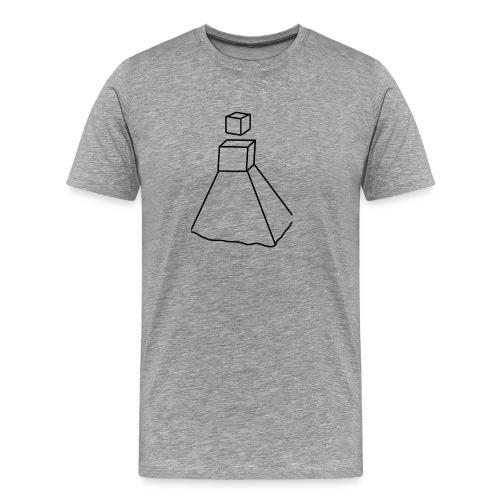 Design Robot Girl - T-shirt Premium Homme