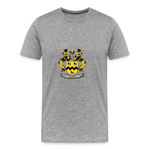 Carrick Family Crest - Men's Premium T-Shirt