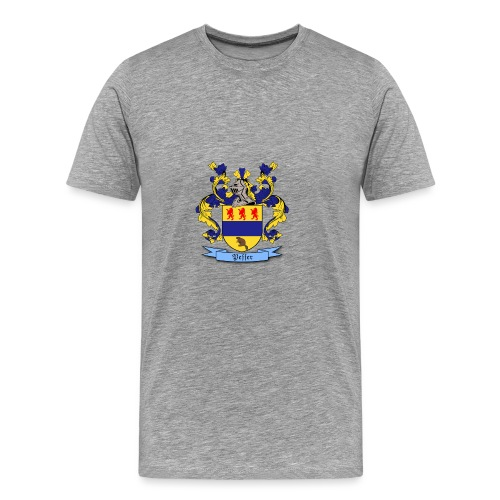 Peffer Family Crest - Men's Premium T-Shirt