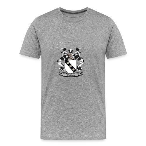 McGinley Family Crest - Men's Premium T-Shirt