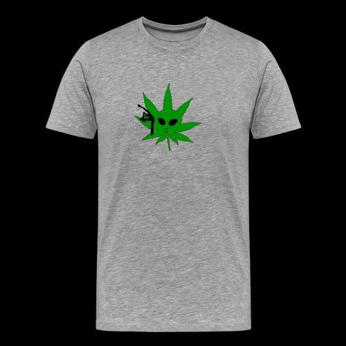 Alien Weed - Men's Premium T-Shirt