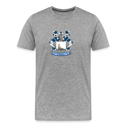 Lithgow Family Crest - Men's Premium T-Shirt