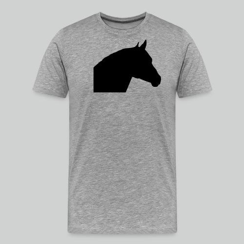 Pferdekopf- 3 - Männer Premium T-Shirt