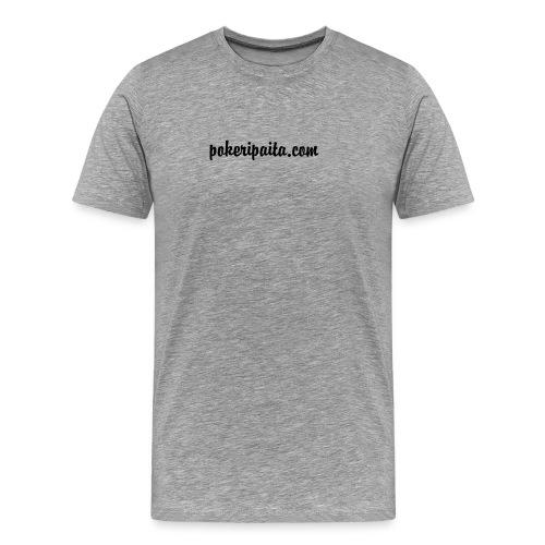 pokeripaitalogo - Miesten premium t-paita