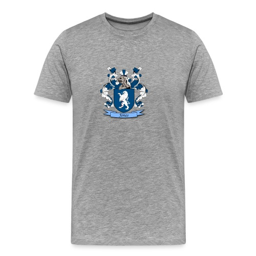 Jones Family Crest - Men's Premium T-Shirt