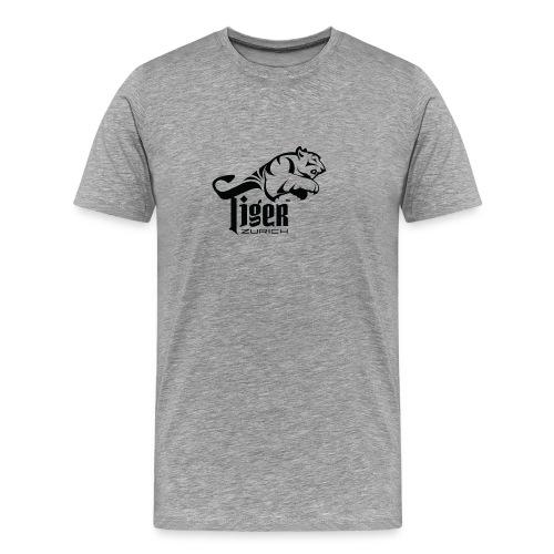 TIGER ZURICH digitaltransfer - Männer Premium T-Shirt