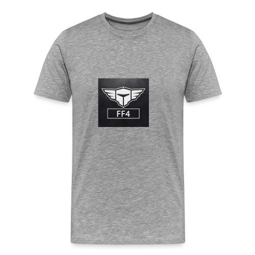 loggo FF4 - Premium-T-shirt herr