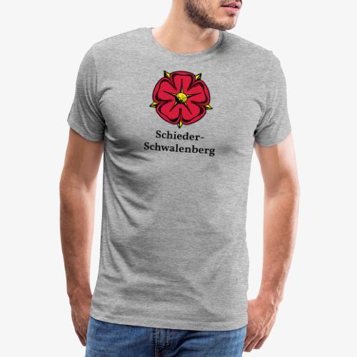 Lippische Rose - Schieder-Schwalenberg - Männer Premium T-Shirt