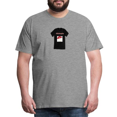 Glückspilz - Männer Premium T-Shirt