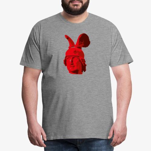 Kopf des Hermannsdenkmals - Männer Premium T-Shirt