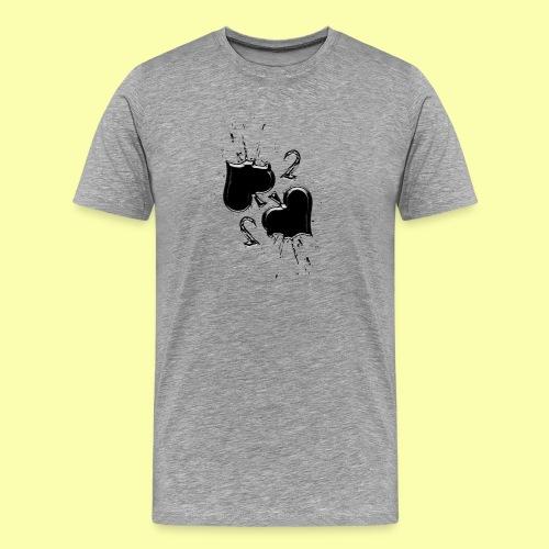 due di picche - Maglietta Premium da uomo