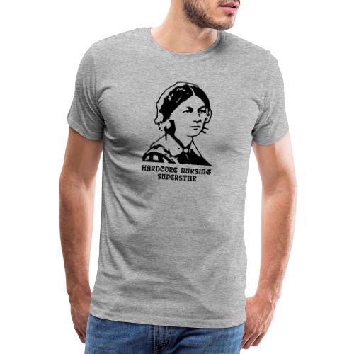 Nursing Superstar - Miesten premium t-paita