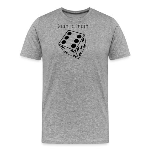 Best i test - Premium T-skjorte for menn