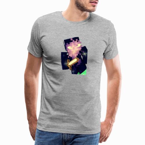 Shaykh Gaming Mineĉraft Skin - Men's Premium T-Shirt