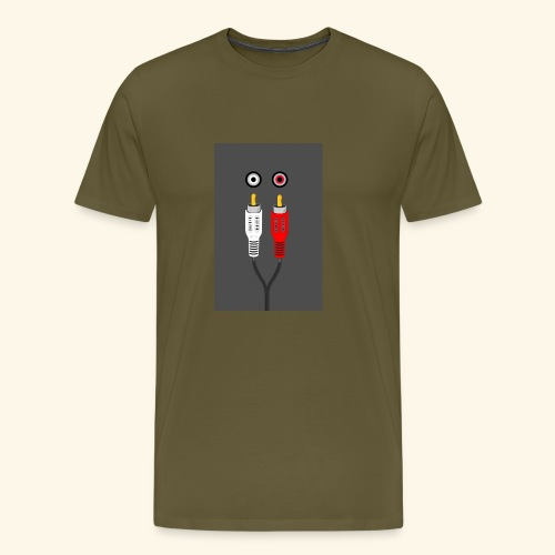 rca cable1 - Maglietta Premium da uomo