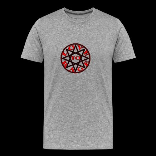 ESTRELLA love to rage - Camiseta premium hombre
