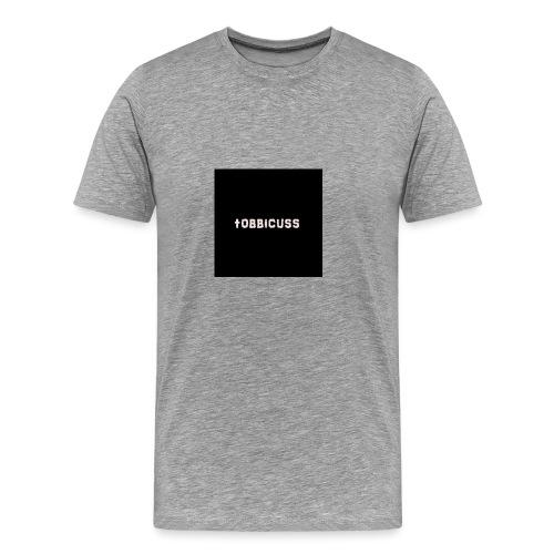 tobbicuss klær - Premium T-skjorte for menn