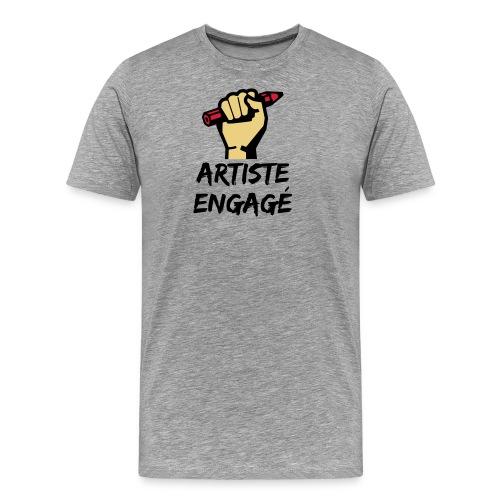 Artiste engagé - T-shirt Premium Homme