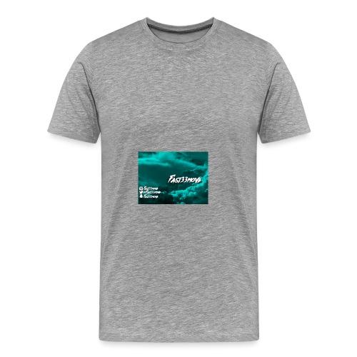 Fast33move - Premium-T-shirt herr