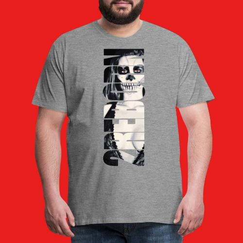 Hot sexy Fashion Pin-Up Girl Dead Zombie 2reborn - Männer Premium T-Shirt