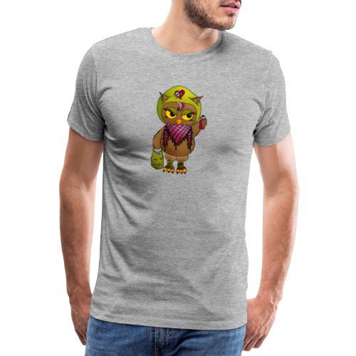 Eule FINE - Eulenclique - Männer Premium T-Shirt