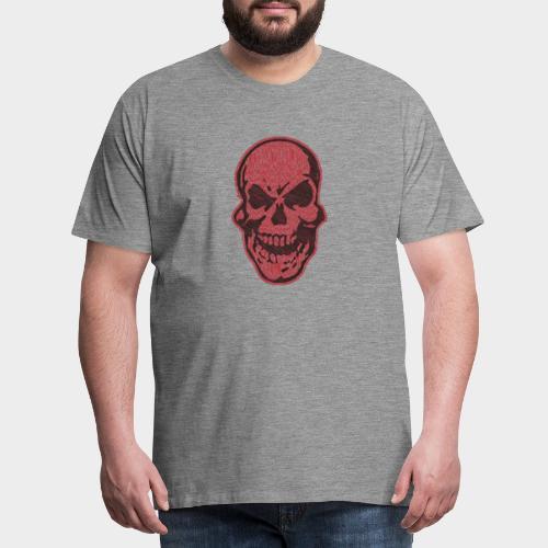 CALAVERA garabato - Camiseta premium hombre