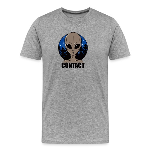 Contact Extraterrestre - T-shirt Premium Homme
