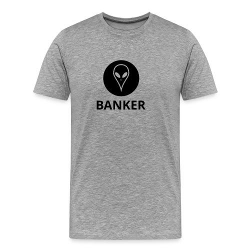 Alien Banker - Men's Premium T-Shirt