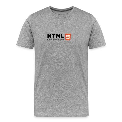 Html 5 - T-shirt Premium Homme